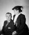 Helena Rubinstein (1870-1965), Polish-born American cosmetics entrepreneur with Prince Artchill Gourielli-Tchkonia, her second husband. © Studio Lipnitzki/Roger-Viollet