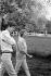 Françoise Sagan and Anthony Perkins, August 1960.   © Bernard Lipnitzki / Roger-Viollet