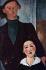 """Amedeo Modigliani (1884-1920). """"Jacques Lipchitz et son épouse"""", 1919. Chicago (Etats-Unis), Art Institute. © TopFoto / Roger-Viollet"""