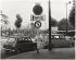 6 meters in front of Paris. Corner of the route-de-la-Reine (Boulogne-Billancourt) and the Porte de Saint-Cloud, Paris (XVIth arrondissement). Photograph by Eustachy Kossakowski (1925-2001), 1971. Paris, musée Carnavalet. © Eustache Kossakowski/Musée Carnavalet/Roger-Viollet