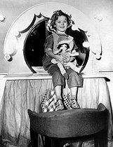 Shirley Temple (1928-2014), American actress, as a child.    © Roger-Viollet