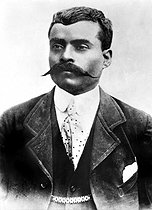 Emiliano Zapata (vers 1879-1919), révolutionnaire mexicain. © The Image Works/Roger-Viollet
