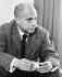 Claude Simon (1913-2005), French writer, 1962. © Jean-Régis Roustan / Roger-Viollet