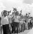 La Havane (Cuba). Fête du 1er mai, vers 1960.     GLA-097B-02 © Gilberto Ante/Roger-Viollet