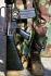Lebanese civil war. M-16 machine gun, 1983. © Françoise Demulder/Roger-Viollet