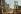 Guerre 1914-1918. Verdun (Meuse). Une rue, après huit mois de bombardements. 23 septembre 1916. Fac-similé de plaque autochrome de Jules Gervais-Courtellemont. © Bilderwelt/Roger-Viollet