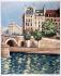 Seguin. Quai Saint-Michel. Engraving. Paris, musée Carnavalet.     © Musée Carnavalet / Roger-Viollet