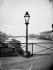 Réverbère, pont des Arts. Paris (Ier arr.), 1870. Photographie de Charles Marville (1813-1879). Bibliothèque historique de la Ville de Paris. © Charles Marville/BHVP/Roger-Viollet