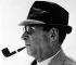 Georges Simenon (1903-1989), écrivain belge. 1968. Photographie de Gertrude Fehr (1895-1996). © Gertrude Fehr / Ullstein Bild / Roger-Viollet