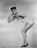 Maria English, pin-up, 1955. © TopFoto / Roger-Viollet