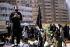Members of the Hezbollah party in Lebanon. Day of Ashura in Chiah. Beirut, January 1989. © Françoise Demulder/Roger-Viollet