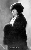 Colette (1873-1954), French writer, around 1910.  © Roger-Viollet