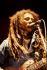 Bob Marley (1945-1981), chanteur de reggae jamaïcain. Hambourg (Allemagne), 1980. © Ullstein Bild / Roger-Viollet