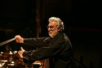 Placido Domingo, Spanish conductor. Paris, théâtre du Châtelet, on June 30, 2008. © Colette Masson/Roger-Viollet
