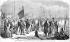 Ferdinand de Lesseps (1805-1894), diplomate français, à son arrivée à Alexandrie, en juillet 1858. Un an avant le percement du canal de Suez. © Roger-Viollet