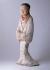 Statuette funéraire, Mingqi (dame). Terre cuite. Chine (Epoque Han entre le IIème siècle avant Jésus-Christ et le IIème siècle). Paris, musée Cernuschi. © Irène Andréani / Musée Cernuschi / Roger-Viollet