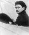 Roland Garros (1888-1918), French officer and aviator, 1913. © Albert Harlingue / Roger-Viollet
