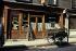 Delivery tricycle and café, rue Sedaine. Paris (XIth arrondissement), April 1970. Photograph by Léon Claude Vénézia (1941-2013). © Léon Claude Vénézia / Roger-Viollet