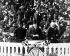 Discours d'investiture de Woodrow Wilson (1856-1924), homme d'Etat américain. Washington D.C. (Etats-Unis), 4 mars 1913. © TopFoto/Roger-Viollet
