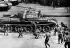 """Opération Danube"". Chars soviétiques entrant en force dans Prague, le 21 août 1968.  © Ullstein Bild / Roger-Viollet"