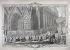 """""""Le Roi allant à l'église"""". Gravure. Paris, musée Carnavalet. © Musée Carnavalet / Roger-Viollet"""