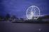 Jardin des Tuileries. La tour Eiffel et la grande roue. Paris, décembre 2000. © Roger-Viollet