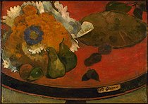 Paul Gauguin (1848-1903). The Gloanec day. Orléans museum. © Roger-Viollet