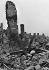 World War II. Invasion of Normandy, June 1944. Ruins of Caen (France). © LAPI / Roger-Viollet