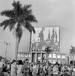 La Havane (Cuba). Fête du 1er mai, vers 1960.      GLA-097B-05 © Gilberto Ante/Roger-Viollet