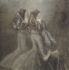 """Constantin Guys (1802-1892). """"Belles de nuit ou deux femmes de profil à droite"""". Musée des Beaux-Arts de la Ville de Paris, Petit Palais. © Petit Palais/Roger-Viollet"""