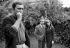 "Maurice Ronet (1927-1983), Stéphane Audran (1932-2018) and Michel Bouquet (born in 1925), French actors, during the shooting of ""La femme infidèle"", film by Claude Chabrol. 1968. Photograph by Georges Kelaïditès (1932-2015). © Georges Kelaïditès / Roger-Viollet"