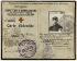 """""""Carte d'identité, Union Générale des Sauveteurs & Ambulanciers, de Jossef Zadkine"""". Daté du 3 octobre 1914. Paris, musée Zadkine. © Françoise Cochennec/Musée Zadkine/Roger-Viollet"""