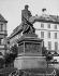 Philippe Grass (1801-1876). Monument to Johannes Gutenberg (circa 1400-1468), German printer. Strasbourg (France). © Léon et Lévy / Roger-Viollet