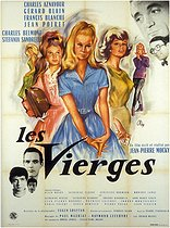 "Okley (1929-2007). Bill for ""Les Vierges"", film written and directed by Jean-Pierre Mocky, 1962. Paris, Bibliothèque Forney. © Bibliothèque Forney / Roger-Viollet"