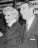 Marilyn Monroe (1926-1962) et Joe DiMaggio (1914-1999). © TopFoto / Roger-Viollet
