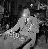"""Guinguette"", film de Jean Delannoy. Paul Meurisse. France, 27 septembre 1958. © Alain Adler / Roger-Viollet"