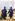 Guerre 1914-1918. Tirailleurs sénégalais. France, 1914. Fac-similé d'un autochrome de Jules Gervais-Courtellemont. © Bilderwelt/Roger-Viollet