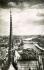 Vue prise de la cathédrale Notre-Dame, carte postale. Paris (IVème arr.). © Roger-Viollet