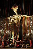 """""""Faust"""" opéra de Goethe, composé par Charles Gounod sous la direction musicale d'Alain Altinoglu. Mise en scène de Jean-Louis Martinoty. Décors: Johan Engels. Costumes: Yan Tax. Lumières: Fabrice Kebour. Interprète: Paul Gay (Méphistophélès). Paris, Opéra Bastille, 19 septembre 2011. © Colette Masson / Roger-Viollet"""