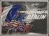 """Guerre 1939-1945. """"Cette fois jusqu'à Berlin"""". Affiche, sans date. Musée du Général Leclerc de Hauteclocque et de la Libération de Paris, musée Jean Moulin.  © Mémorial Leclerc - Musée Jean Moulin/Roger-Viollet"""