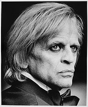 Klaus Kinski (1926-1991), German actor. Paris, 1977. © Bruno de Monès/Roger-Viollet