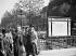 The Montparnasse metro station. Paris, 1938. © Roger-Viollet