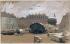 Isidore Pils (1813-1875). The Vendôme column, knocked down on May 29, 1871. Drawing. Paris, musée Carnavalet. © Musée Carnavalet/Roger-Viollet