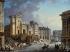 Pierre-Antoine Demachy (1723-1807). Demolition of the Saint-Barthélémy church, on the Ile de la Cité. Oil on wood. Paris, musée Carnavalet. © Musée Carnavalet / Roger-Viollet