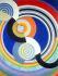 """Robert Delaunay (1885-1941). """"Rythme numéro 2"""". Huile sur toile, 1938. Paris, musée d'Art moderne. © Musée d'Art Moderne/Roger-Viollet"""