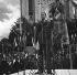 Allocution du général De Gaulle (1890-1970). Bar-le-Duc (Meuse), octobre 1946. Photographie de Roger Berson. © Roger Berson/Roger-Viollet