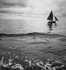 Sailing ship. France, about 1955. © Tony Burnand / Roger-Viollet
