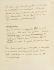 """""""La mort et les statues"""", ouvrage photographique de Pierre Jahan. Manuscrit de Cocteau (B), page 5. 1944. Paris, musée Carnavalet.  © Musée Carnavalet / Roger-Viollet"""