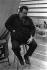 Charles Mingus (1922-1979), musicien et compositeur de jazz américain. Palais des sports de Villeurbanne (Rhône), 1970. © Gérard Amsellem / Roger-Viollet