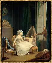 """Jean-Frédéric Schall (1752-1825). """"L'Amour frivole, vers 1785"""". Huile sur panneau de bois parqueté, vers 1780. Paris, musée Cognacq-Jay. © Musée Cognacq-Jay/Roger-Viollet"""
